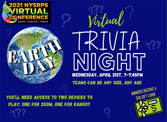 Trivia Night with Courtney & Name Badge Contest!